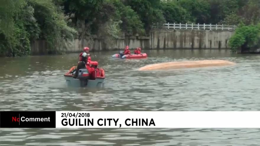 Naufrage meurtrier de bateaux-dragons en Chine