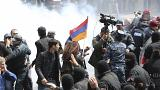 Street protests rock Armenia