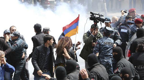 Armenian opposition leader released