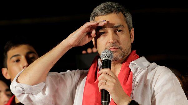Mario Abdo Benítez, nuevo presidente de Paraguay