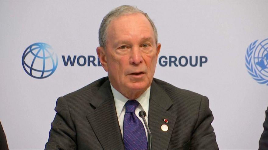 Michael Bloomberg ofrece 4,5 millones de dólares por el Acuerdo de París