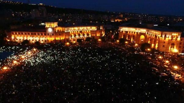 La colère gronde en Arménie après plus de 230 arrestations
