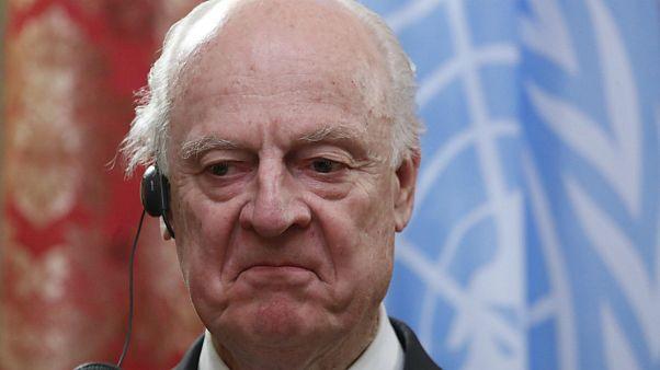 نماینده ویژه سازمان ملل در امور سوریه
