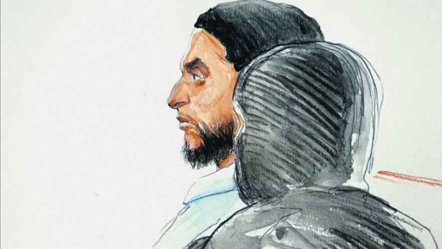 """Salah Abdeslam condenado a 20 años por """"intento de asesinato"""" en Bélgica"""