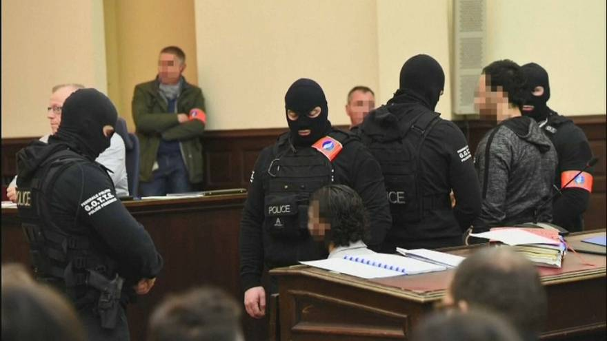 Paris attacks suspect Salah Abdeslam found guilty by Belgian court