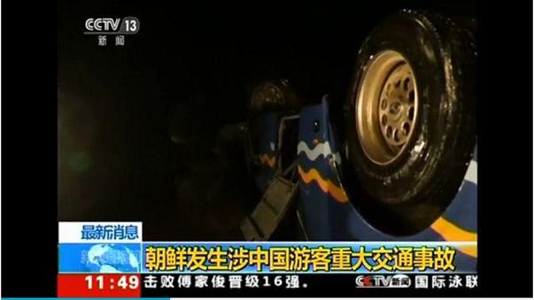 Kuzey Kore'de otobüs 'köprüden düştü': 32 Çinli turist hayatını kaybetti