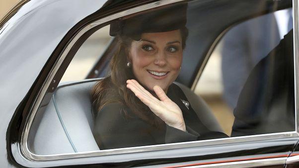 Elkezdődött Katalin hercegné szülése