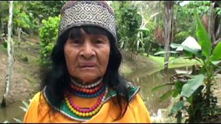 المعالجة الروحانية والناشطة المحلية البيروفية أوليفيا أريفالو