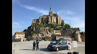 Un suspect arrêté dans l'enquête sur la fermeture du Mont-Saint-Michel