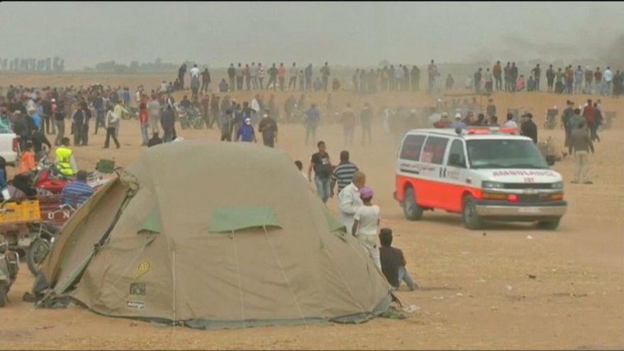 """Gaza : 40 Palestiniens tués depuis le début de """"la marche du retour"""""""