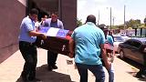 Funerals underway for those killed in anti-government protests