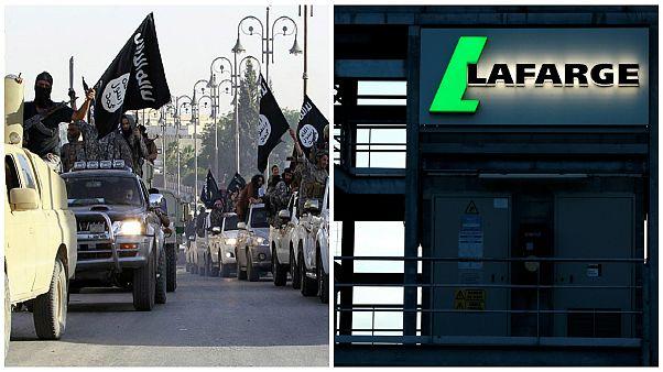 شرکت لافارژ-جنگجویان داعش