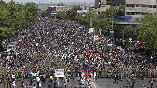 Премьер Армении Серж Саргсян подал в отставку