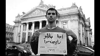 """Syrischer Aktivist: """"Meine Waffe ist das Wort"""""""