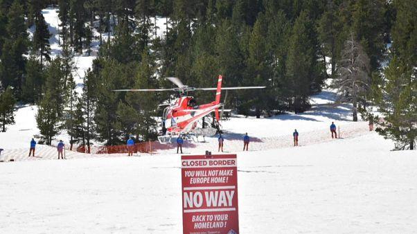 Hautes-Alpes : deux militants pro-migrants arrêtés à la frontière franco-italienne