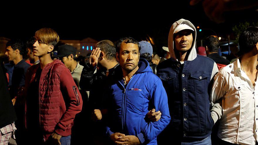 Лесбос: столкновения между мигрантами и греческими националистами
