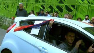 Γαλλία: Αρμένιοι στους δρόμους της Λυών