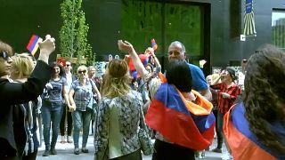 La joie des Arméniens de France