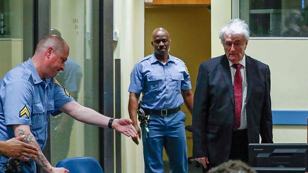 Felmentését kérte Karadzic