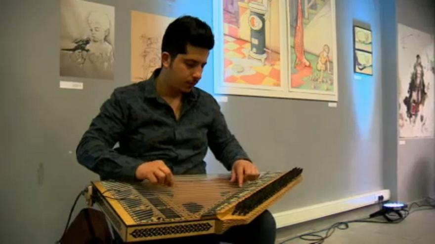 Brüsseler Syrien-Konferenz beginnt mit Kunstausstellung
