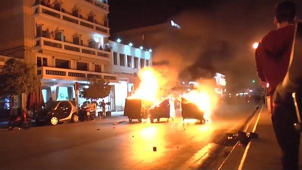 Sakız Adası'nda göçmenlere ırkçı saldırı