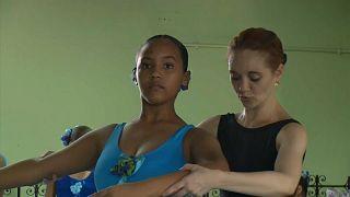 Ballettunterricht in der Favela