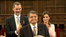 """Sergio Ramírez: """"dedico el Cervantes a los nicaragüenses asesinados"""""""