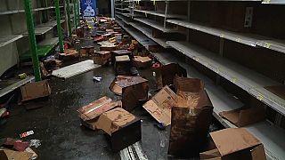 Supermercados saqueados en Nicaragua