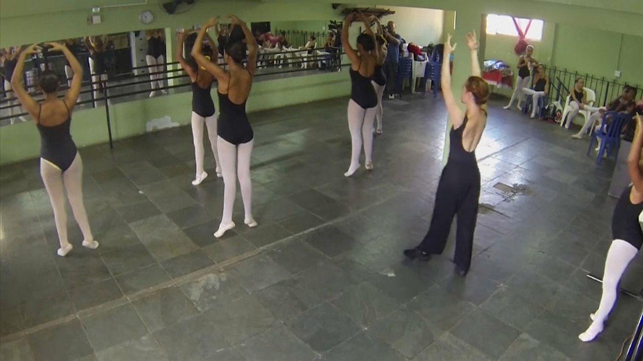 Балет как средство спасения от насилия в фавелах