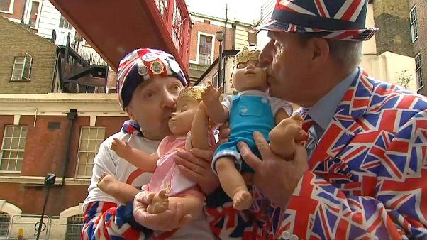 شاهد: الرهان على جنس مولود العائلة المالكة البريطانية