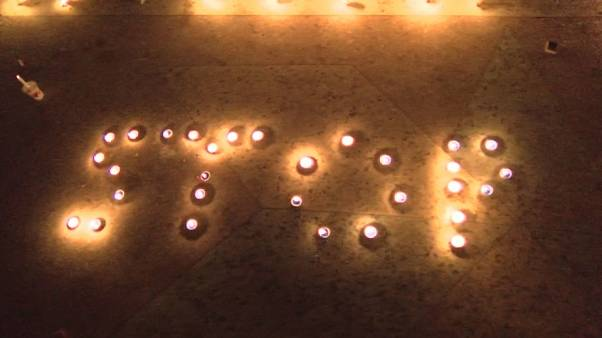 Vigilia en Afganistán para recordar a las víctimas de Kabul