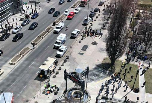 Police probe motive of Canada van attack which left 10 dead