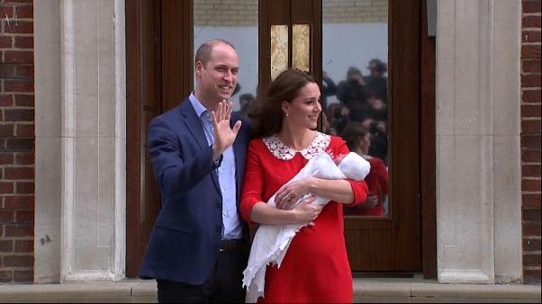 Primeiras imagens do novo príncipe