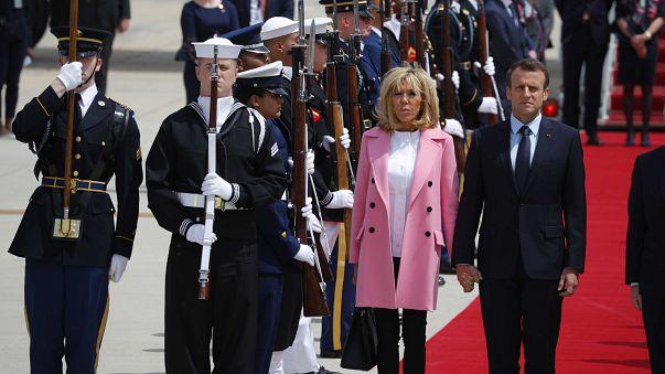 Macron è a Washington per convincere Trump su Iran, Siria, dazi e clima