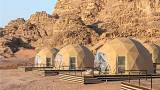 The Martian Camp, Wadi Rum, Jordan