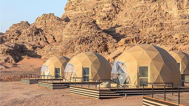 The Martian Camp, Wadi Rum, Jordan
