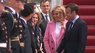 """Washington extiende la alfombra roja al """"amigo"""" Macron"""