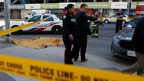 Al menos nueve muertos en un atropello múltiple en Toronto