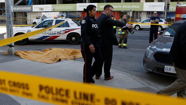 Atropello múltiple en Toronto