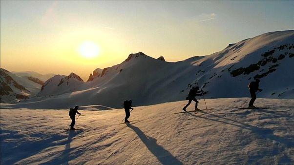 Novo recorde de travessia dos Alpes