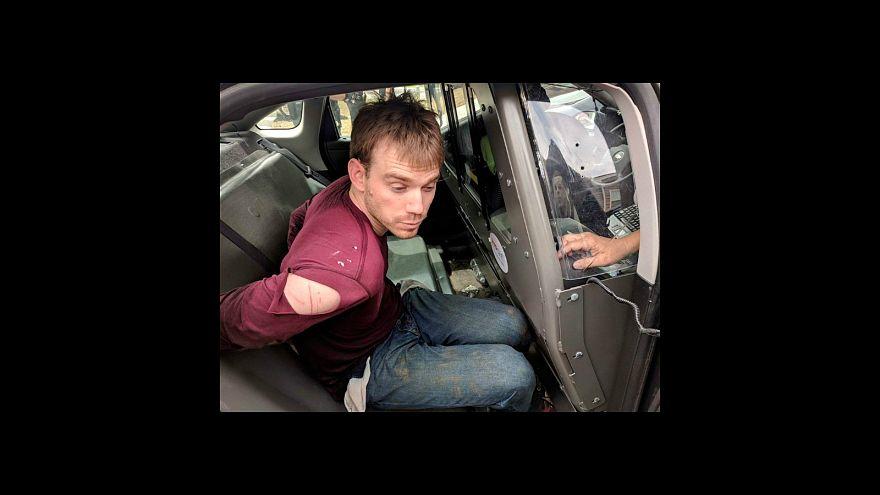 """اعتقال """"العاري"""" المشتبه بقتله 4 أشخاص في مطعم تنيسي"""