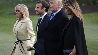 Macron zu Gast bei Trump: Staatsbesuch mit schwierigen Fragen