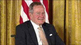 ABD eski başkanı Bush yoğun bakımda