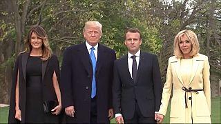 Trump empfängt Macron als ersten Staatschef