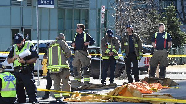 Al menos 10 muertos en un atropello múltiple en Toronto