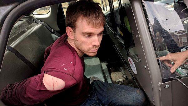 Suspeito de Nashville detido na floresta
