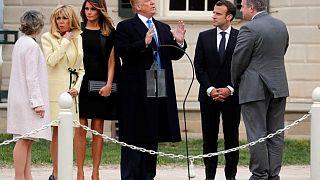 HΠΑ: Δείπνο Τραμπ - Μακρόν μετά των συζύγων
