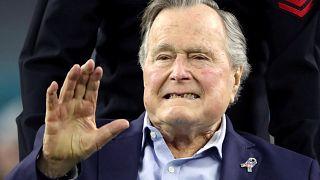 George Bush hospitalizado por infeção no sangue