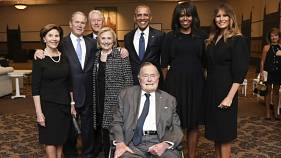 Ex-Präsident George Bush mit 93 Jahren auf Intensivstation