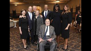 Джордж Буш-старший госпитализирован